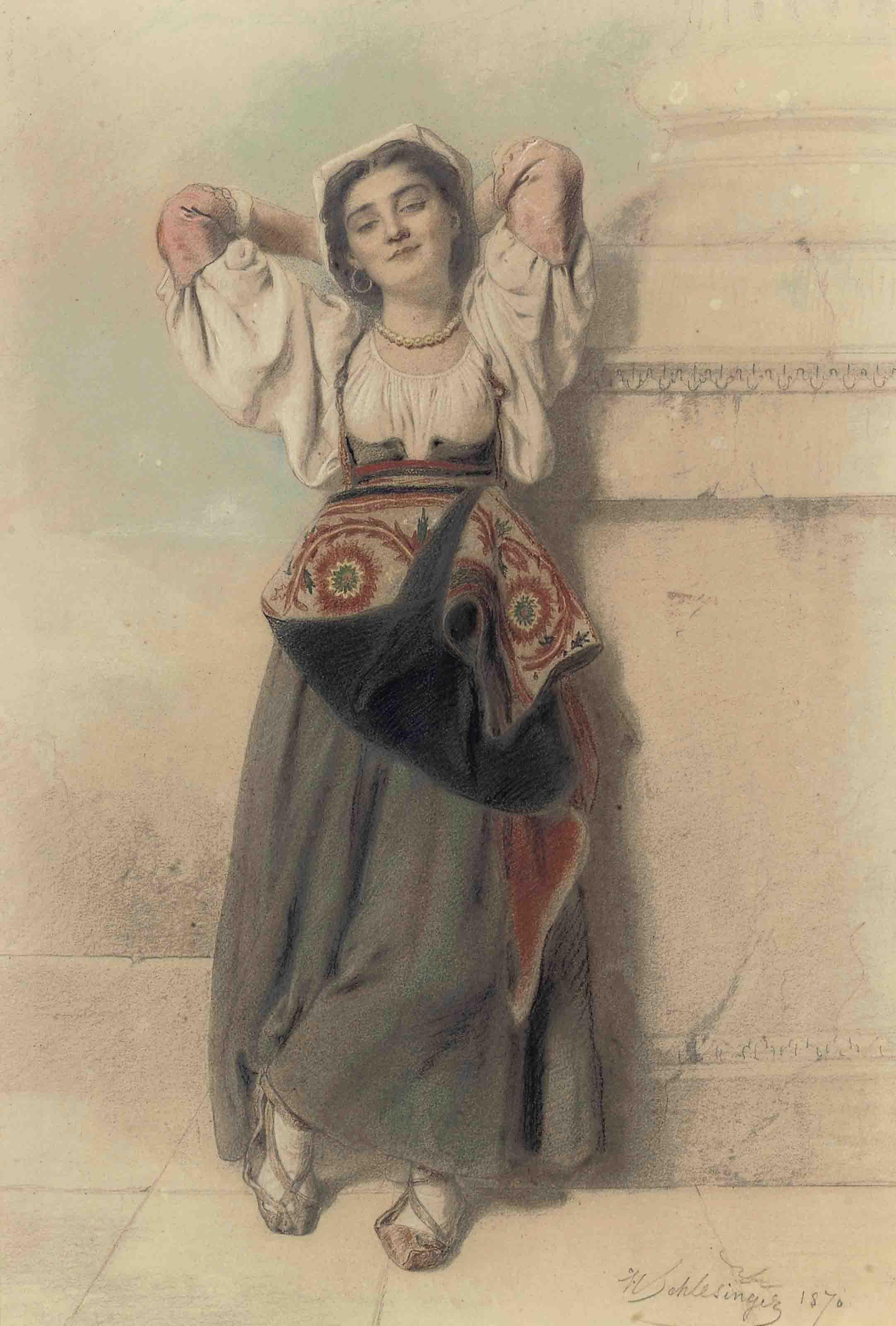 An Italian maiden