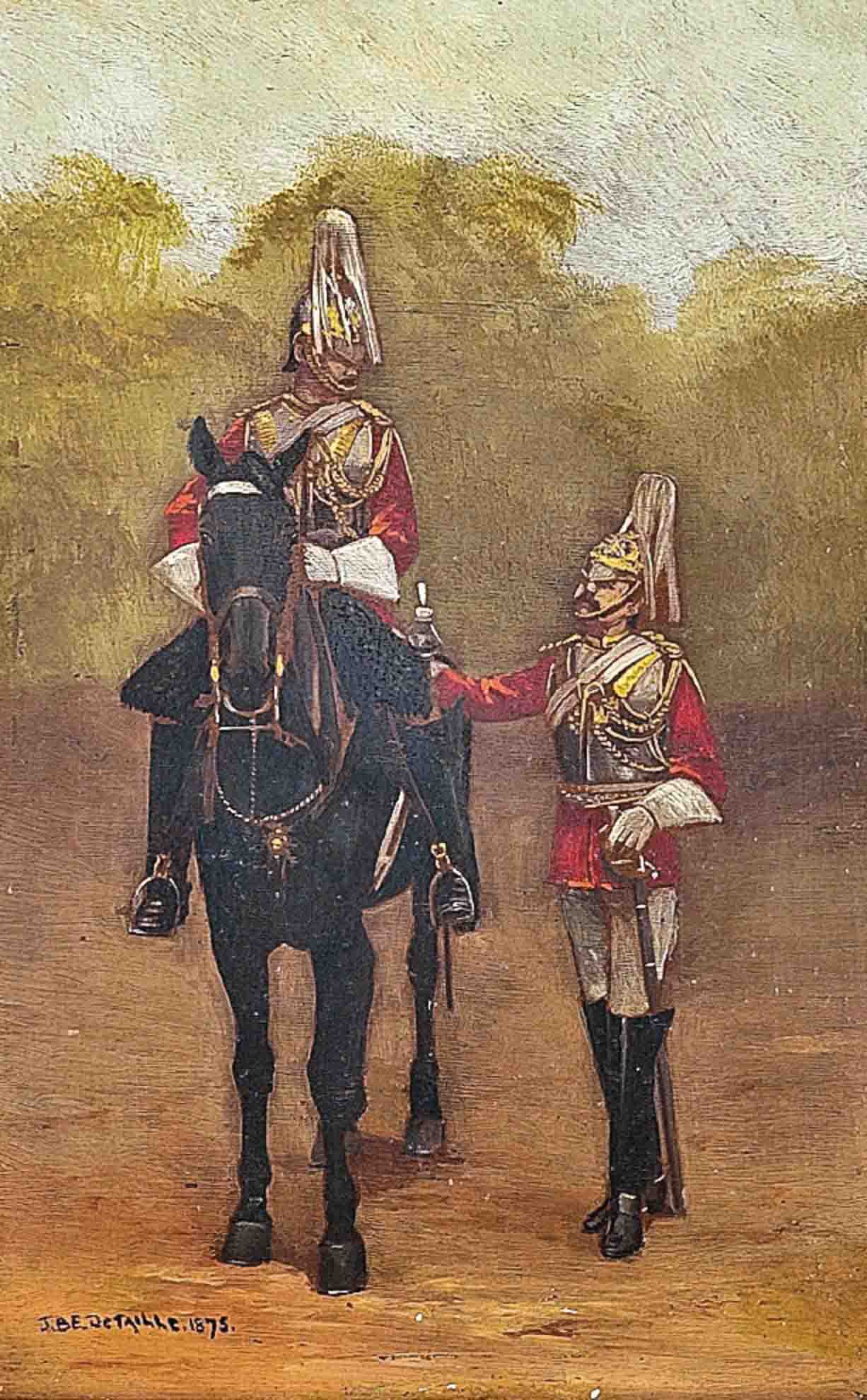 The King's horseguard; and The conversation between the guards