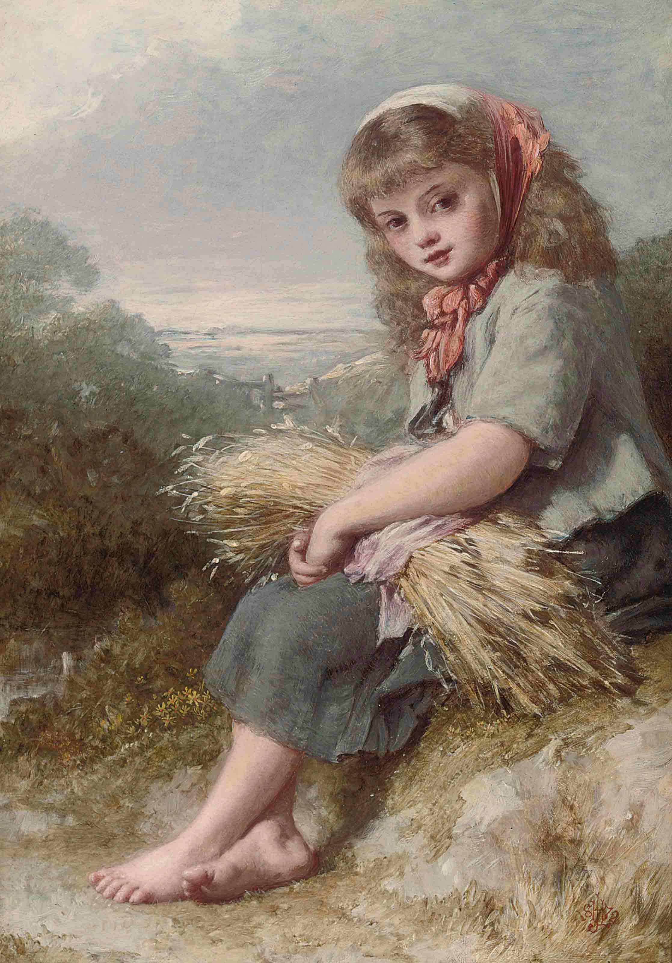 The young harvester