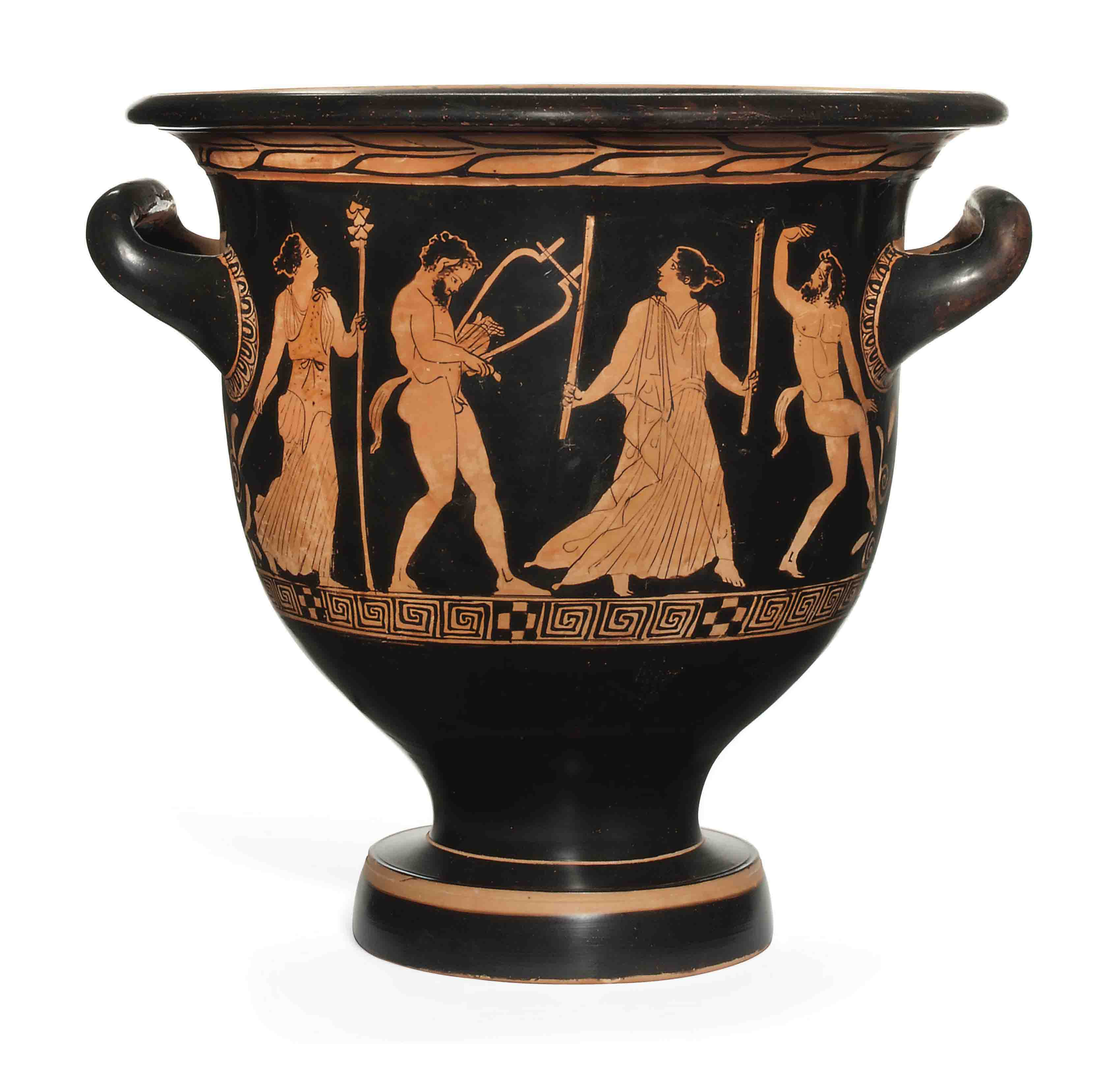 AN ATTIC RED-FIGURED BELL-KRATER