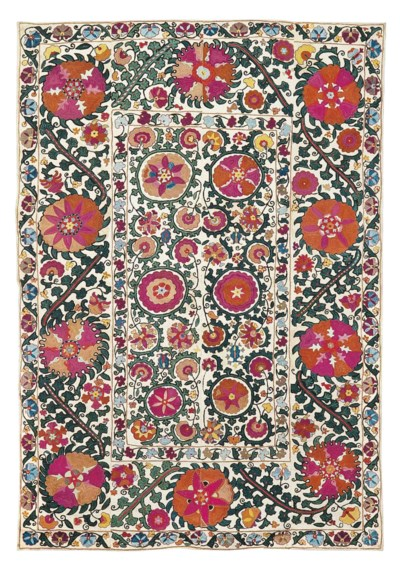 A SUSANI DOWRY COVERLET