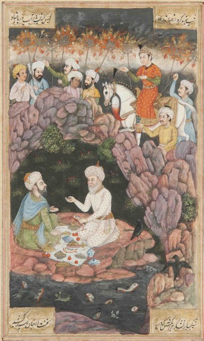 ISKANDAR WITH THE SAGES ILLYAS