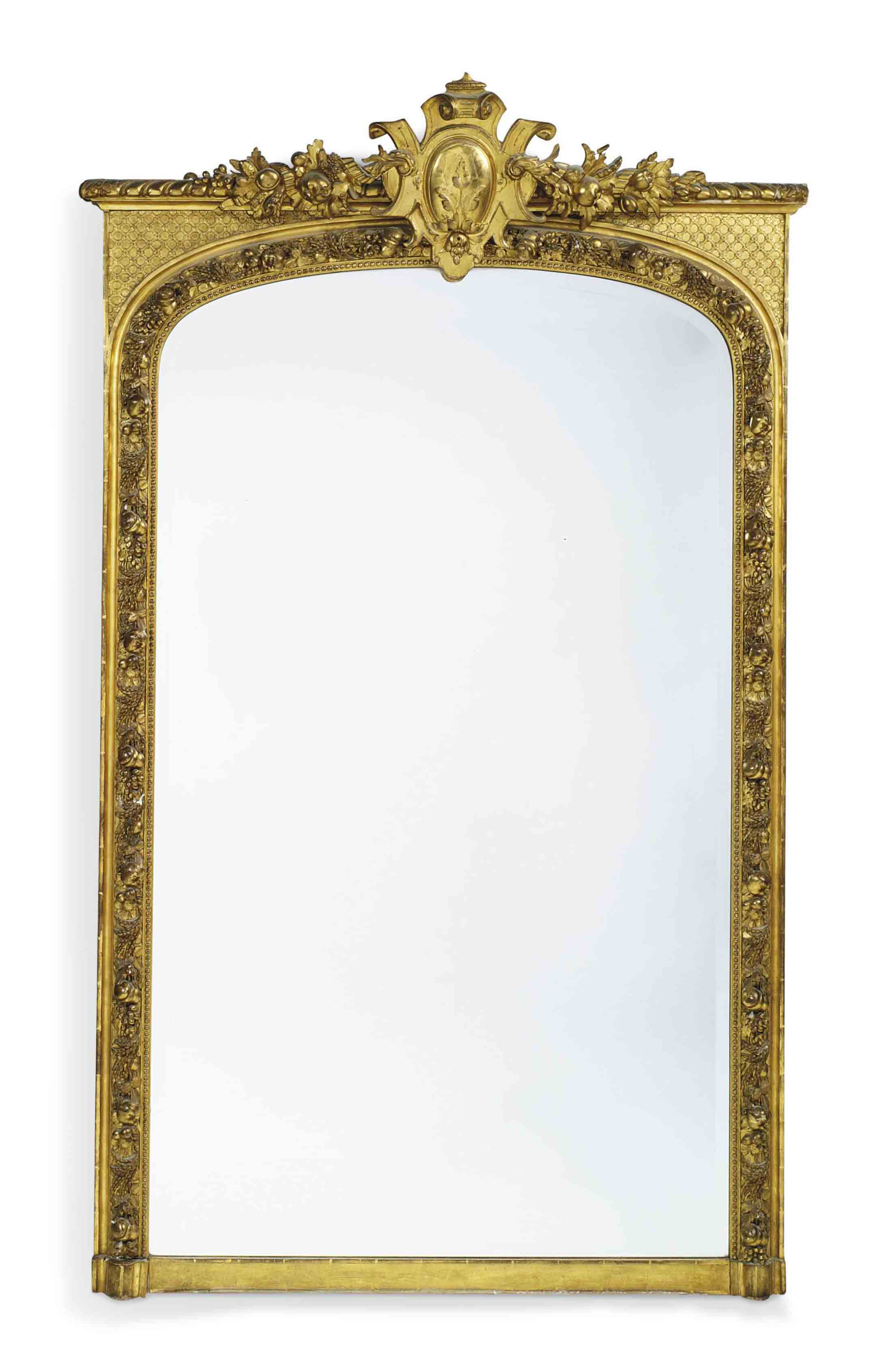 A LARGE FRENCH GILTWOOD AND CO