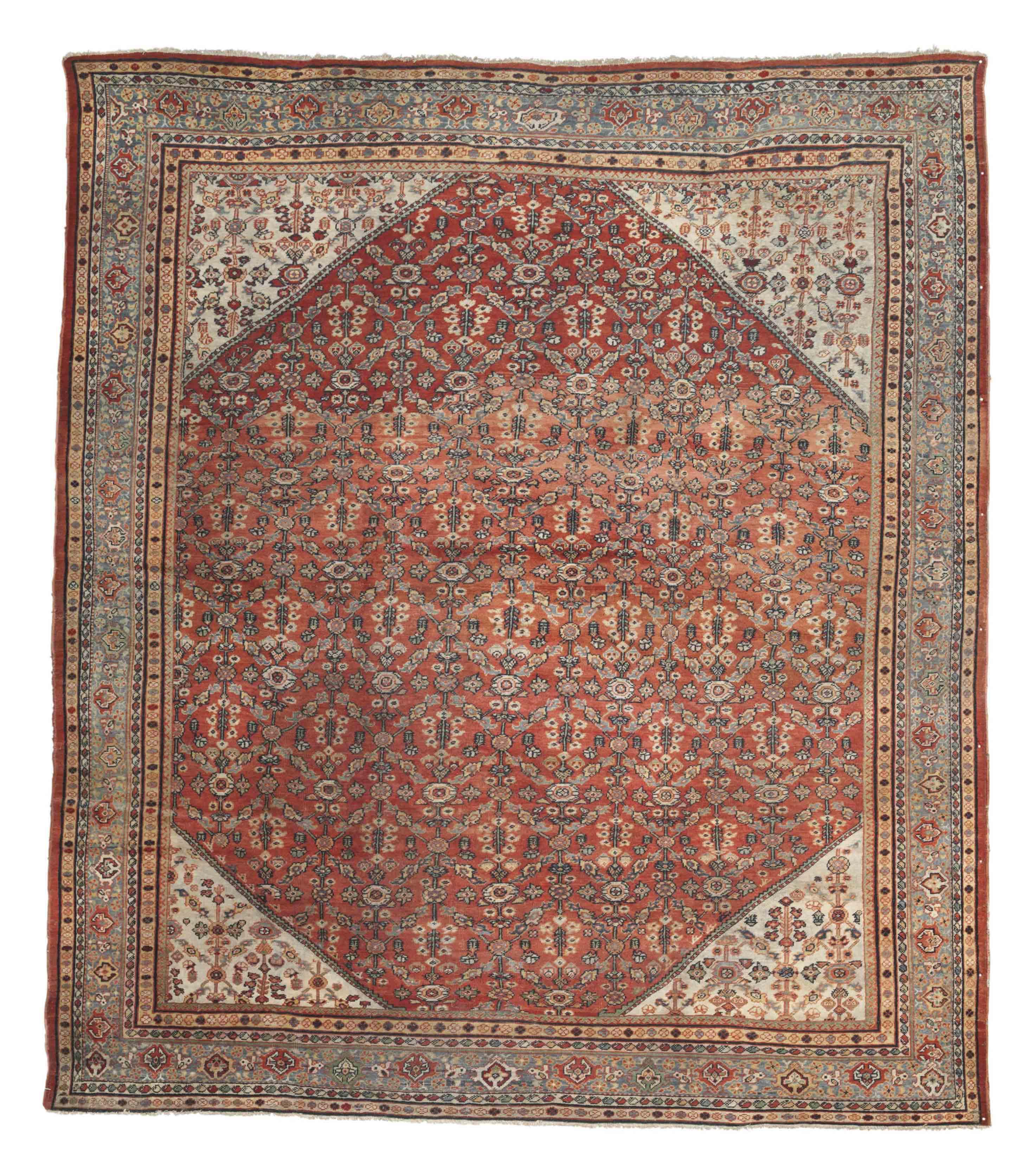 An antique Ziegler-Mahal carpe