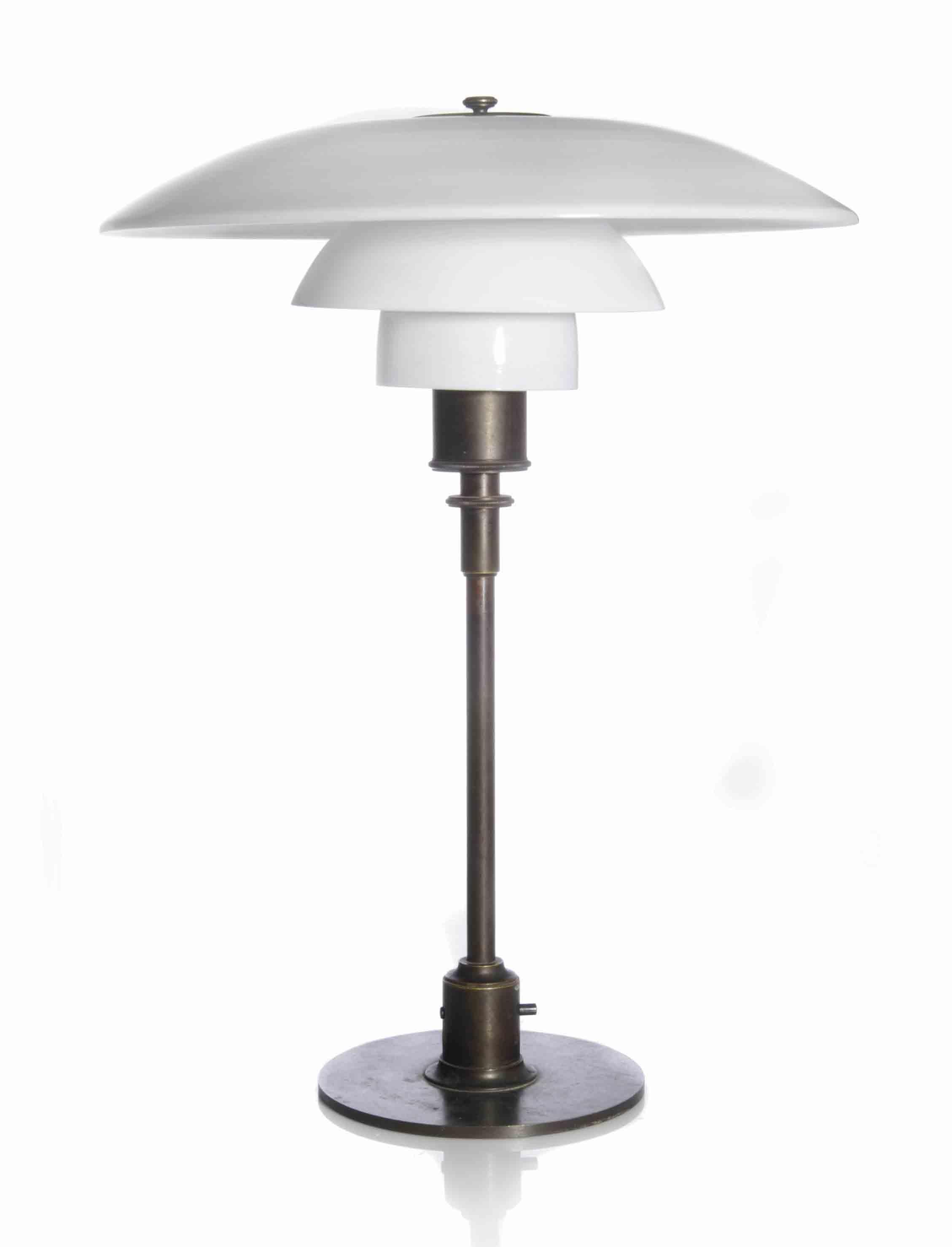 A POUL HENNINGSEN PH-4 TABLE LAMP