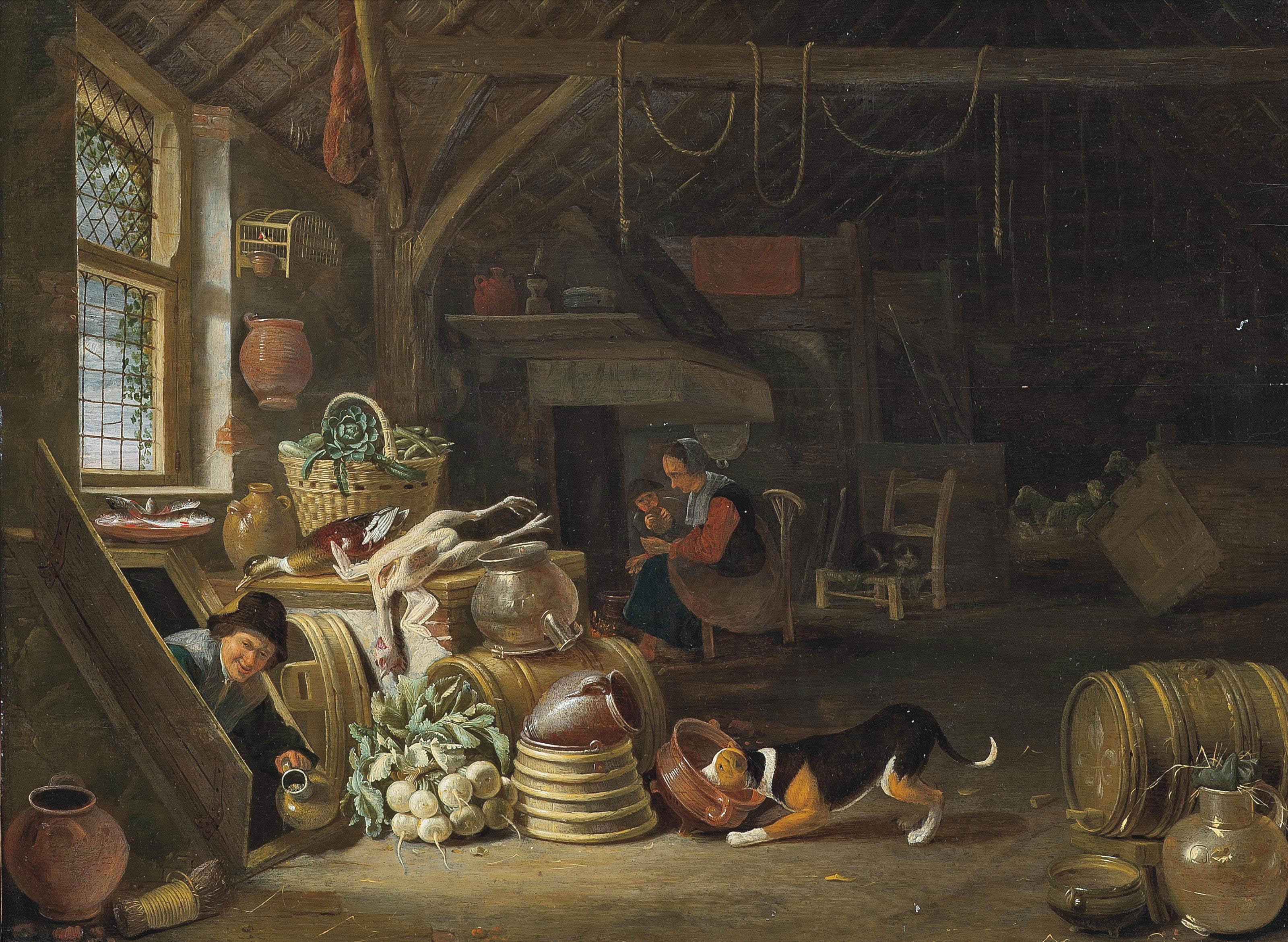 Dirck Wijntrack (Heusden 1605-1678 The Hague)