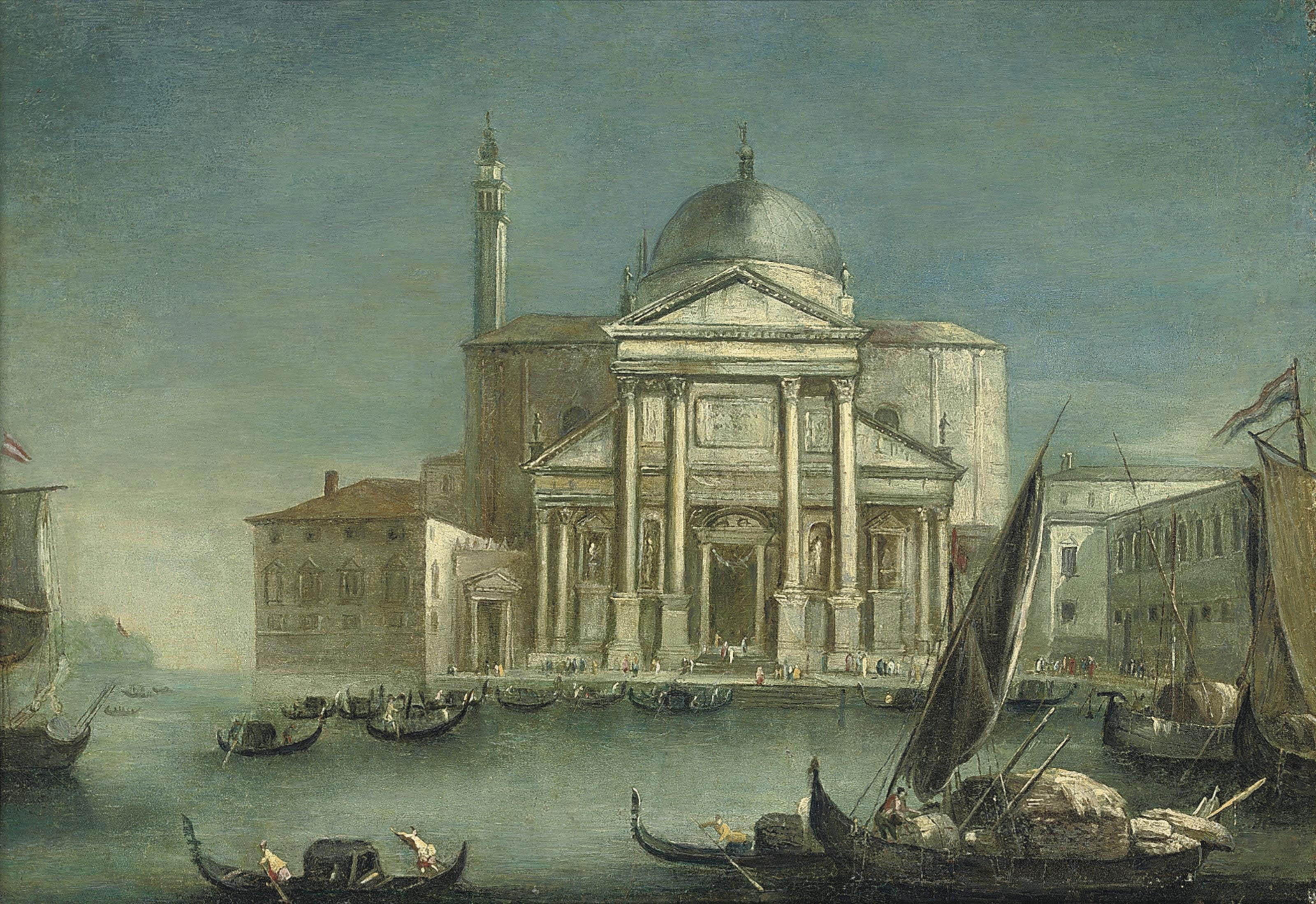 A view of San Giorgio Maggiore, Venice