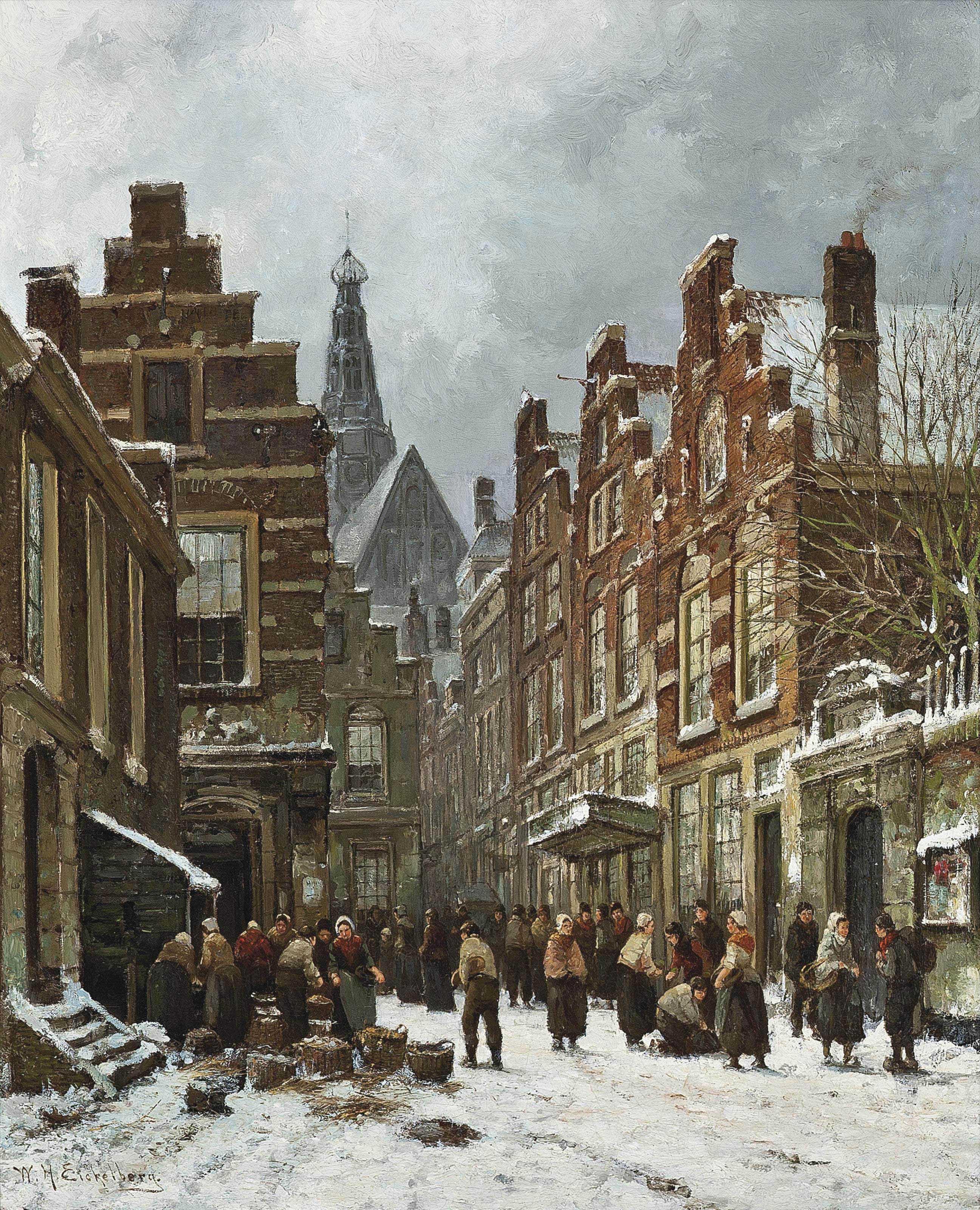 Market day, Haarlem
