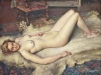 A sleeping nude