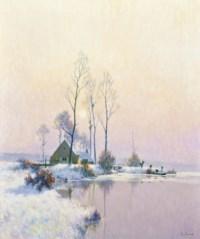 Givre et gelée blanche (Bords de l'Oise)