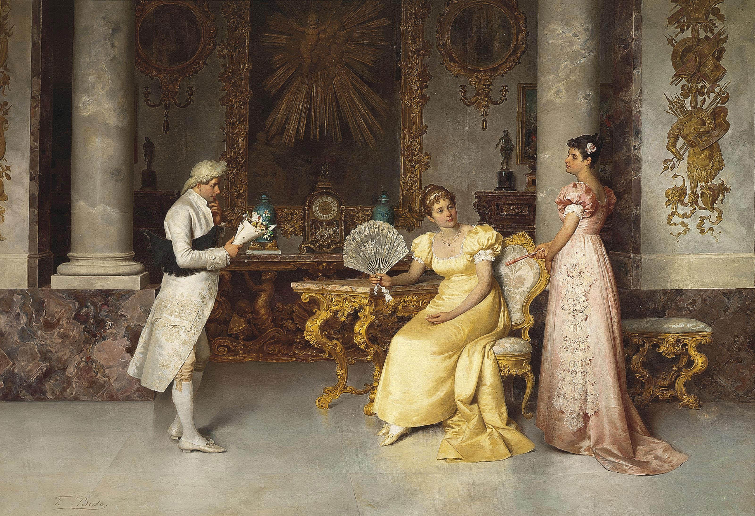 Francesco Beda (Italian, 1840-1900)