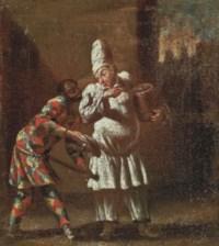 Harlequin and Trivelino