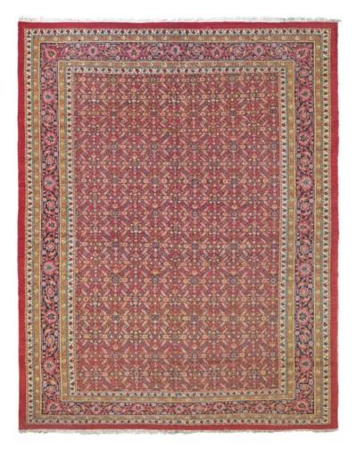 An unusual Indo-Persian carpet