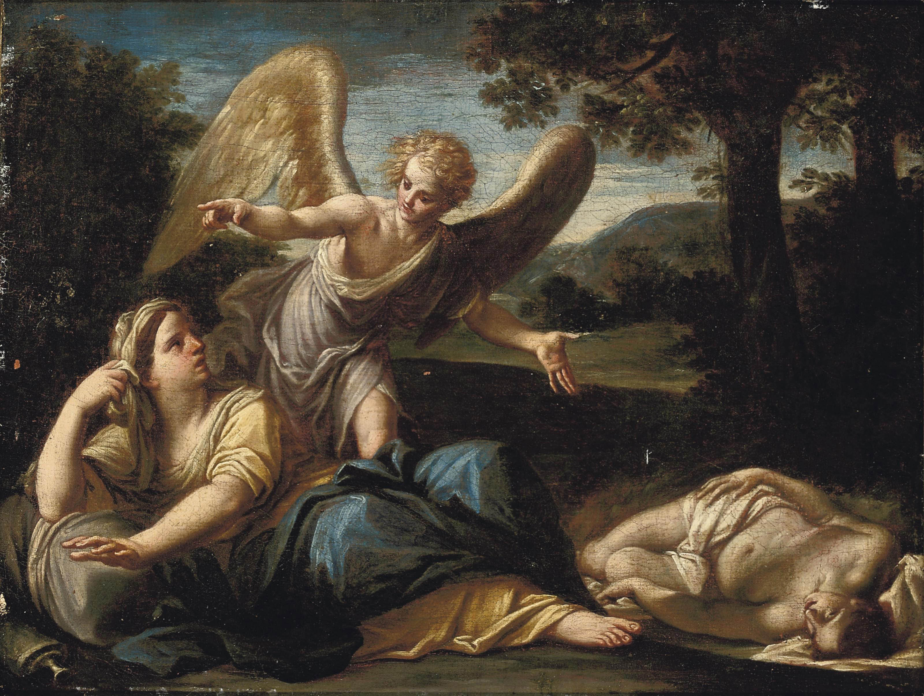 The Angel appearing to Hagar and Ishmael