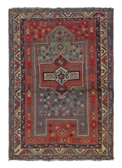 An antique Fachralo Kazak pray