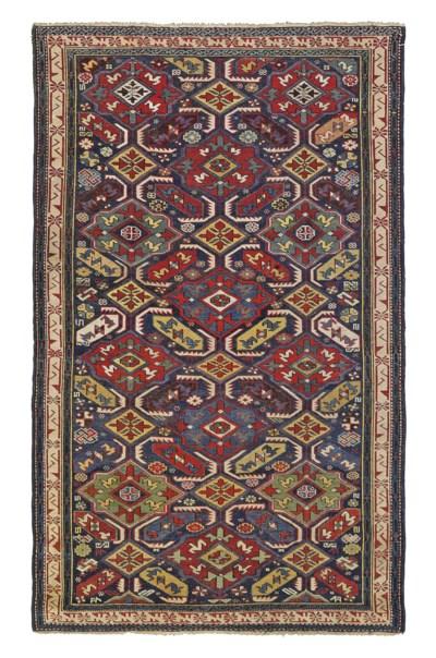 An antique Alpan-Kuba rug