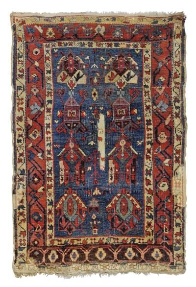 An antique Shield rug