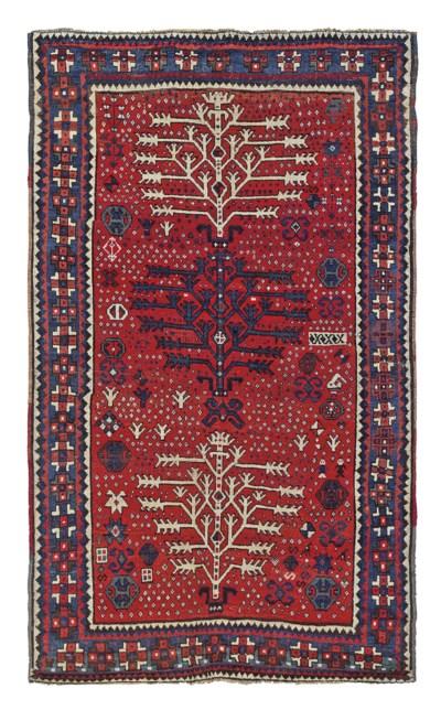 A Tree design Kazak rug