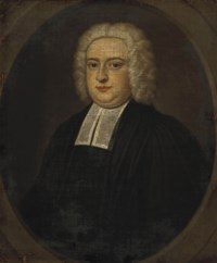 Portrait of a gentleman, bust-length, in a black coat, feigned oval