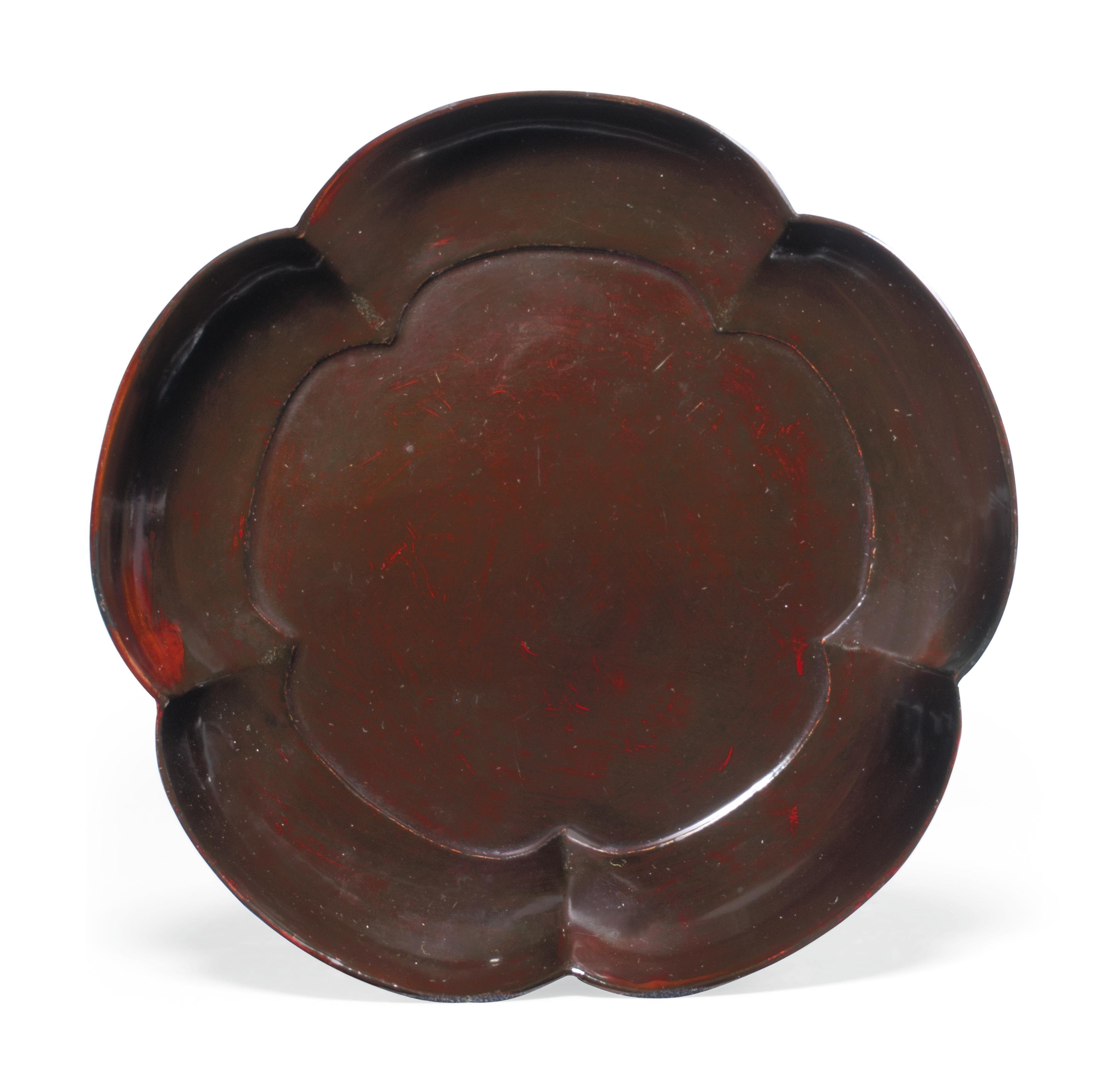 Five Lacquer Dishes