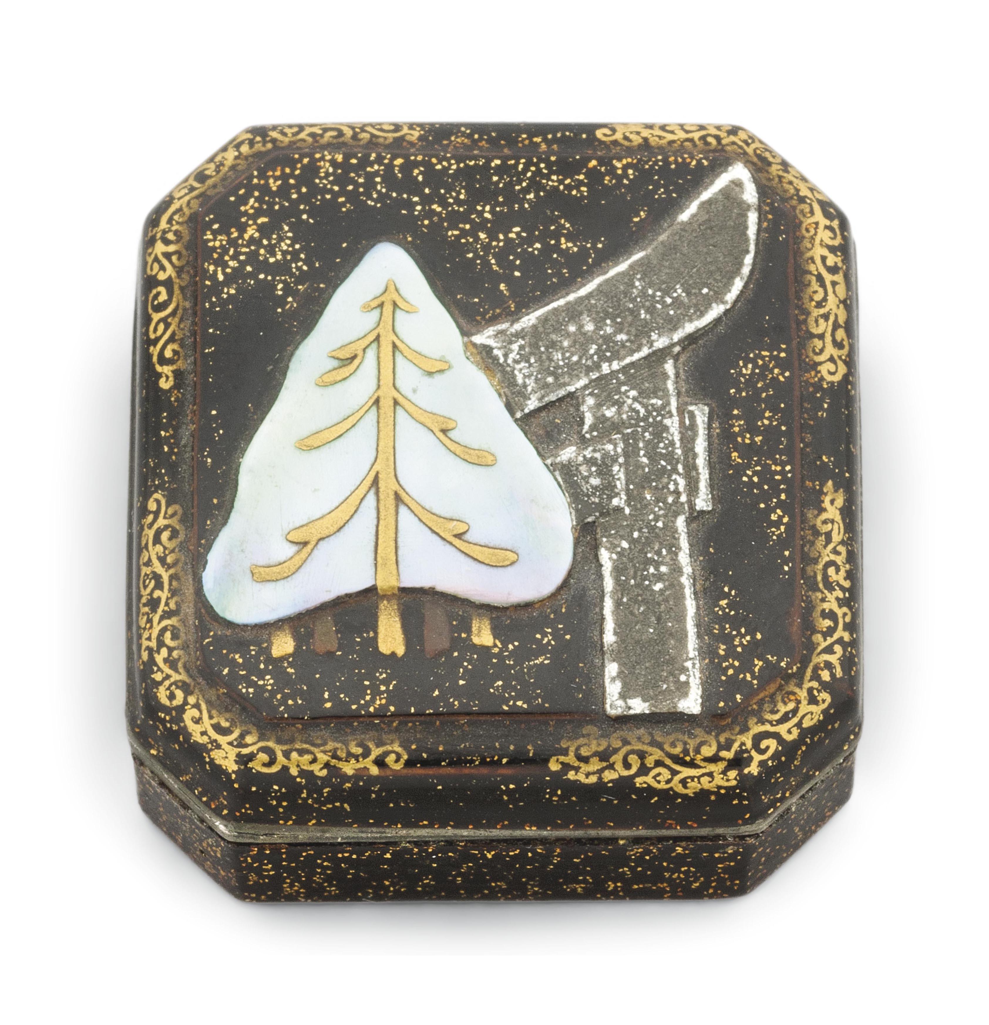 A Lacquer Incense Box [Kogo]