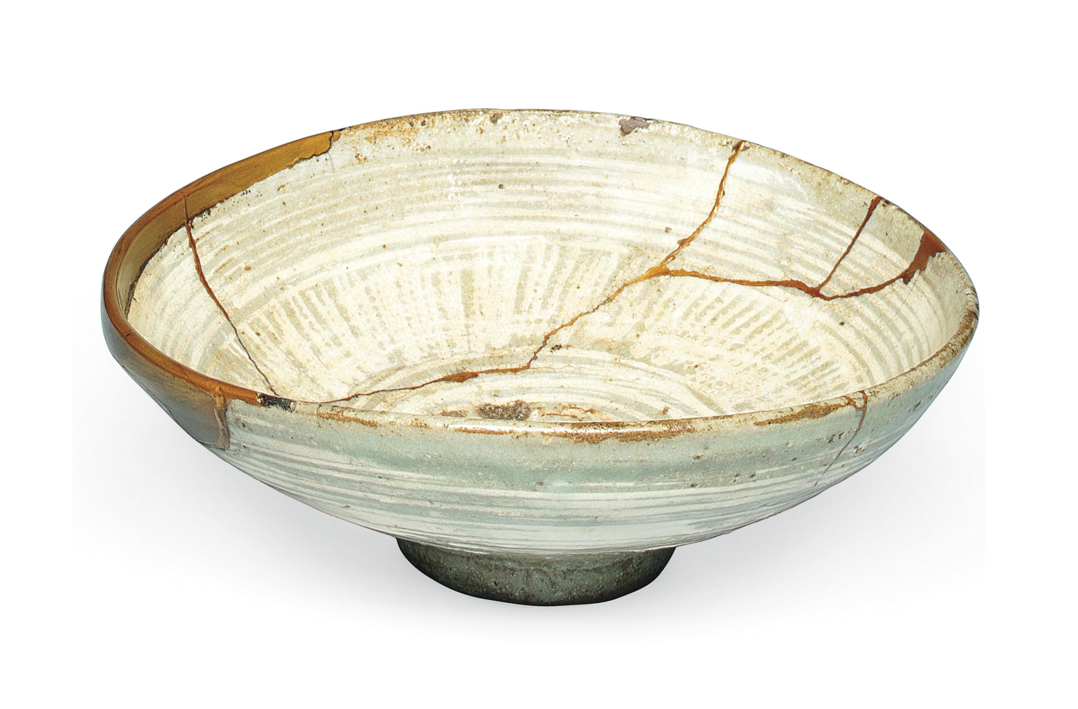 A Korean Stoneware Teabowl