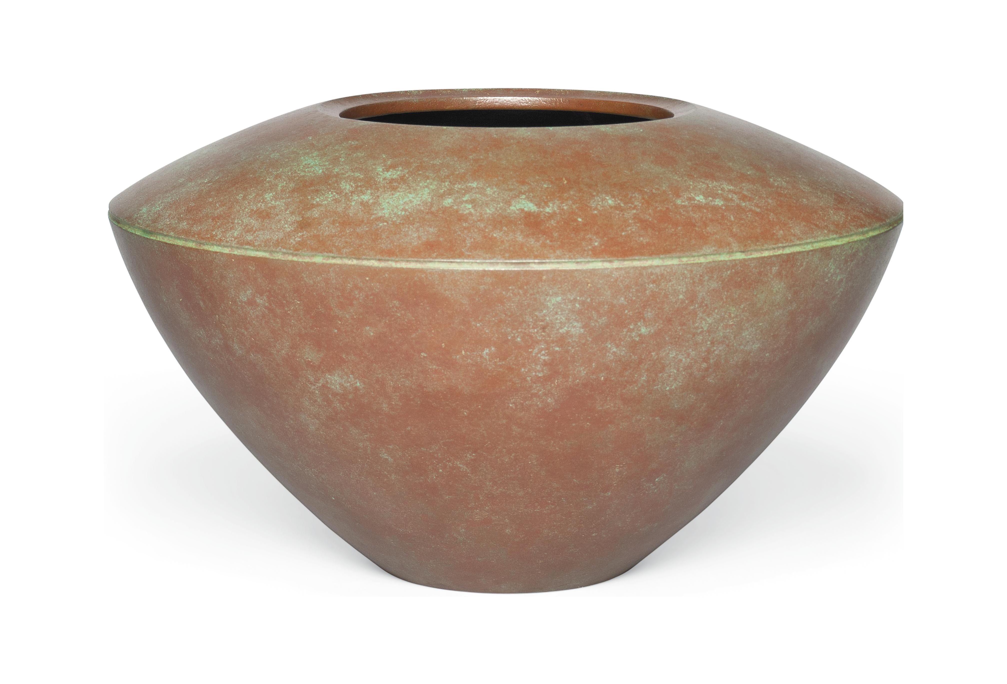 A Bronze Flower Vase
