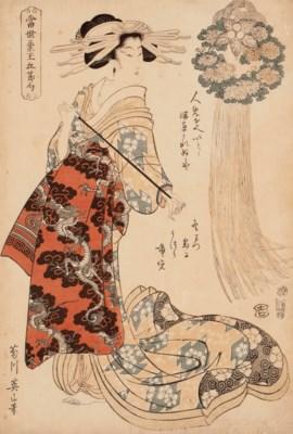 Kikugawa Eizan (1787-1867) Uta