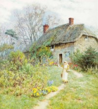 'Cottage at Bothenhampton, Dorset'