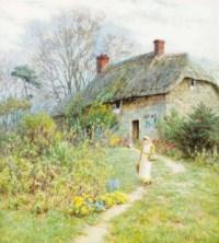'Cottage at Bothenhampton, Dorset'