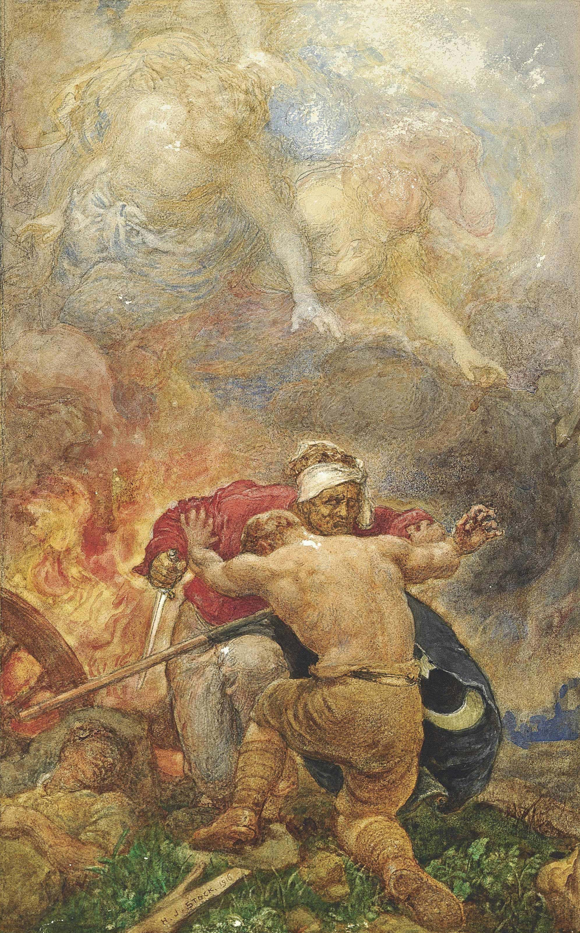 Cain and Abel: The struggle against evil