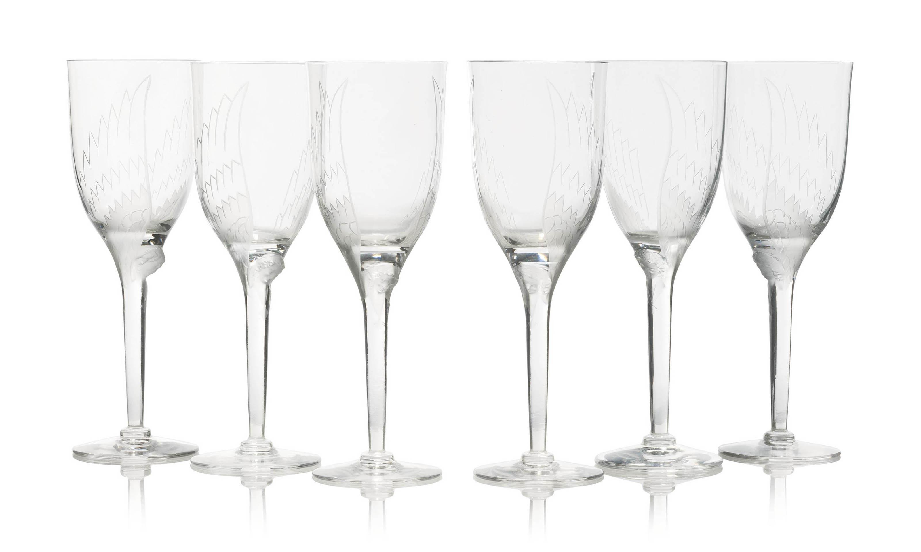 ANGES SIX GLASSES, NO. 13-645