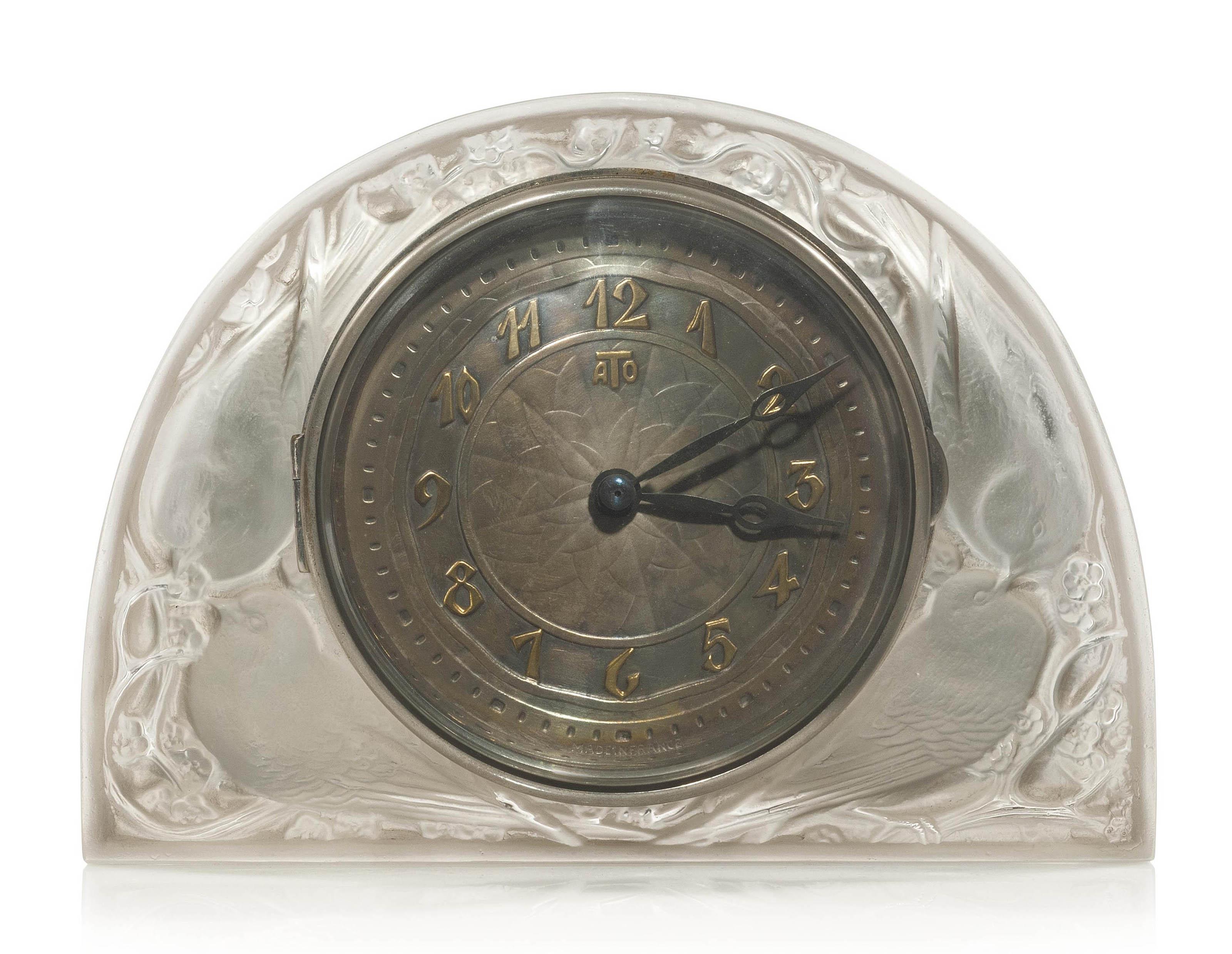 MOINEAUX ATO CLOCK, B