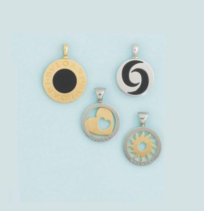 Four pendants, by Bulgari