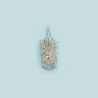 A Belle epoque diamond-set wat