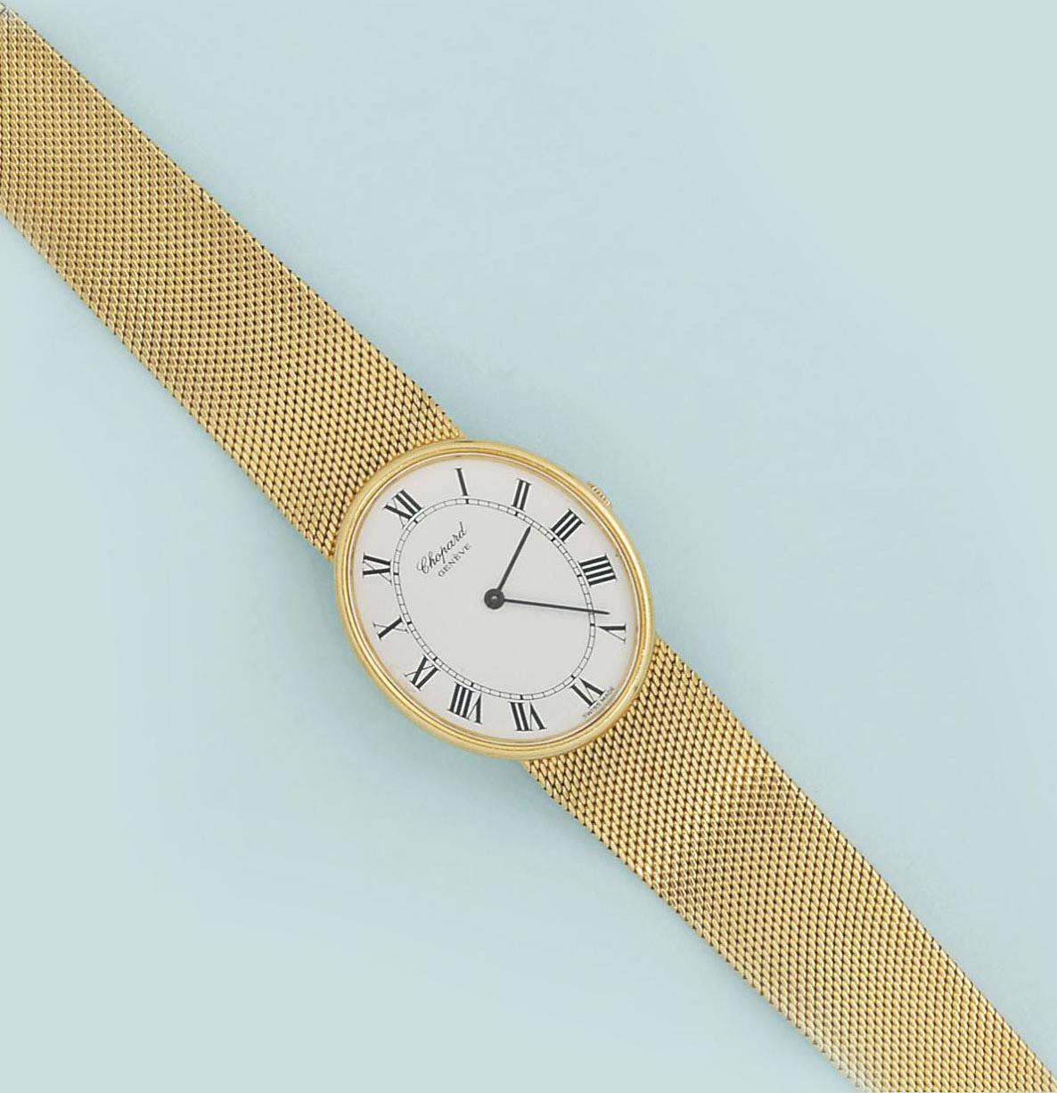 A wristwatch, by Chopard