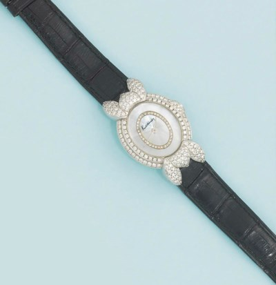 A lady's diamond set quartz