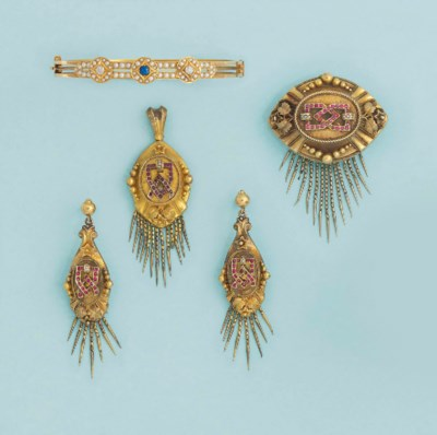 A collection of 19th century j