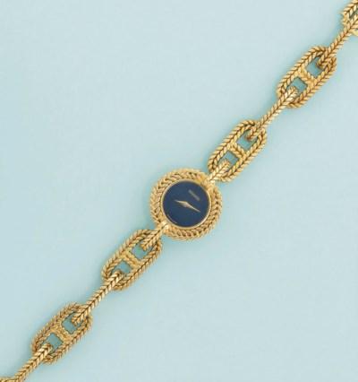 A bracelet watch, by Hermes