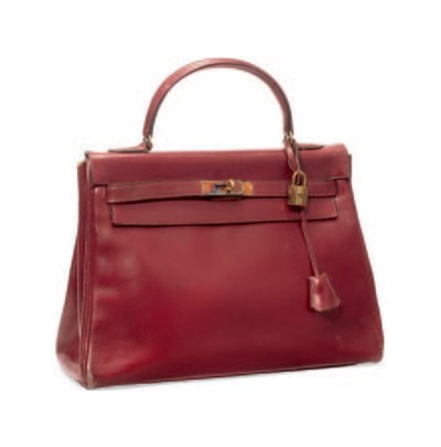A ROUGE H BOX LEATHER 'KELLY'