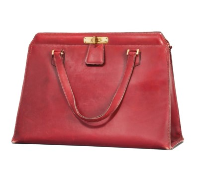 A ROUGE H LEATHER BAG
