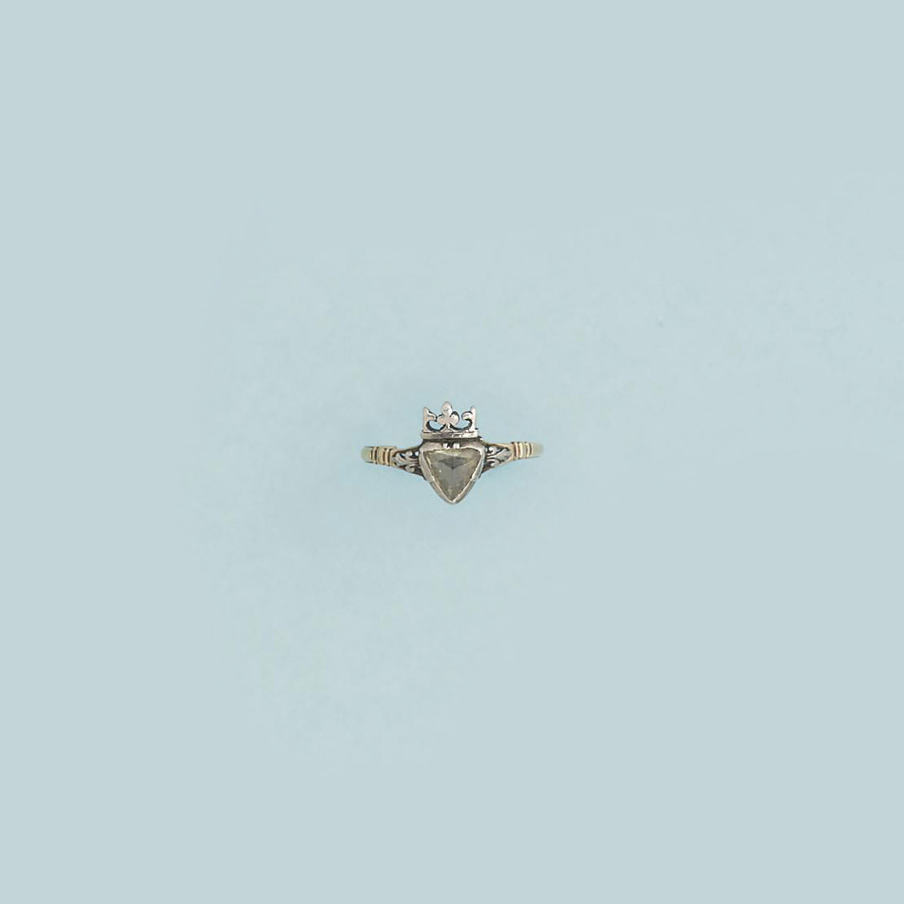 An 18th century diamond single