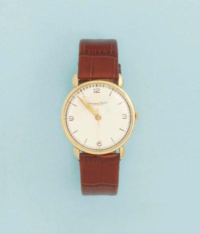 A wristwatch, by International