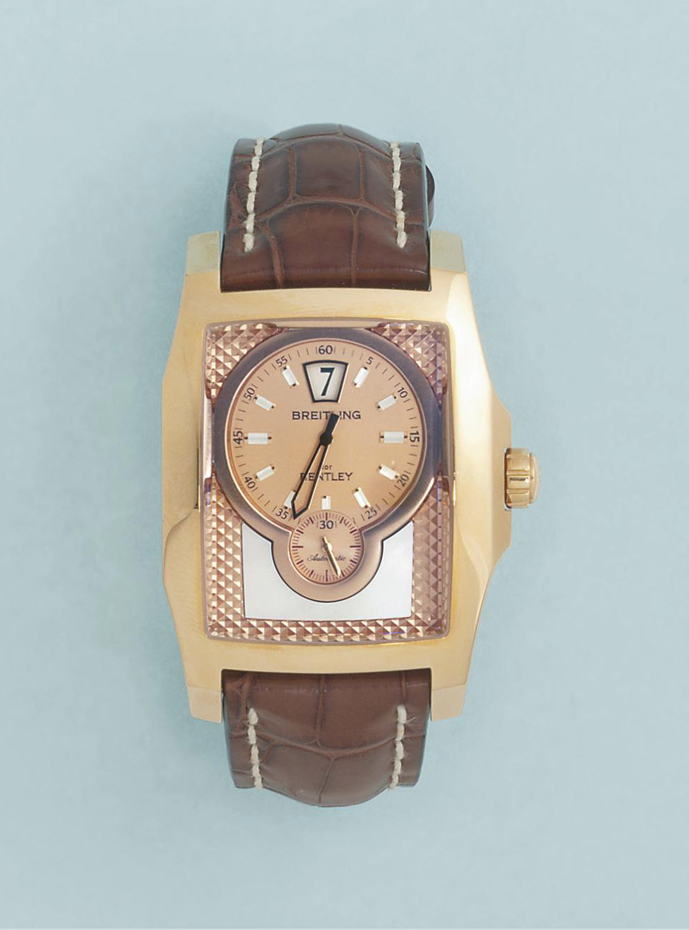A large, 18ct. gold automatic