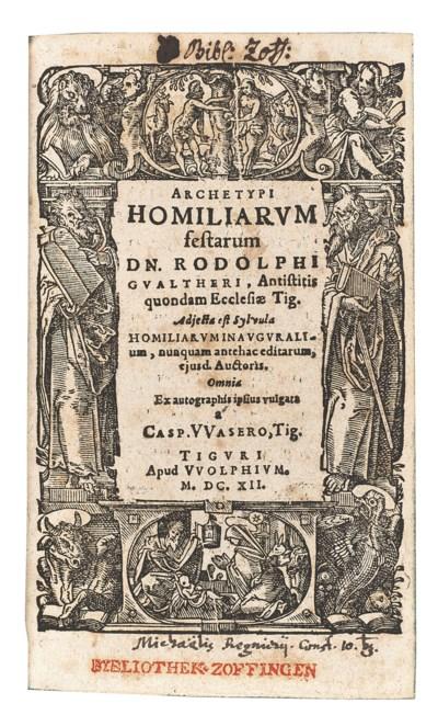 GWALTHER, Rudolf (1519-1586) a
