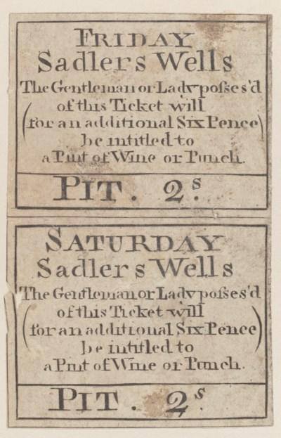 SADLER'S WELLS -- An album of