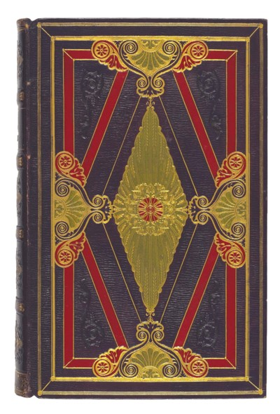 BINDING -- BIBLE, in French: L
