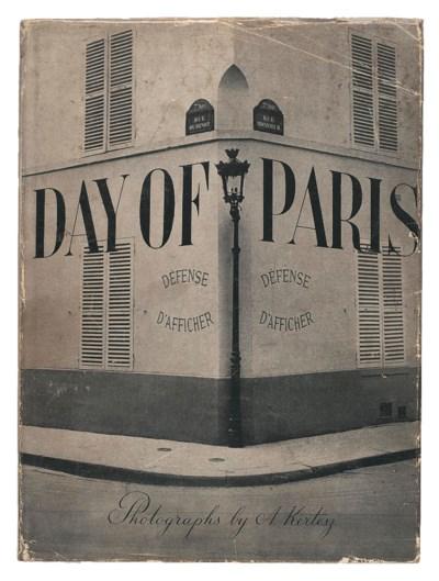 KERTESZ, Andre. Day of Paris.