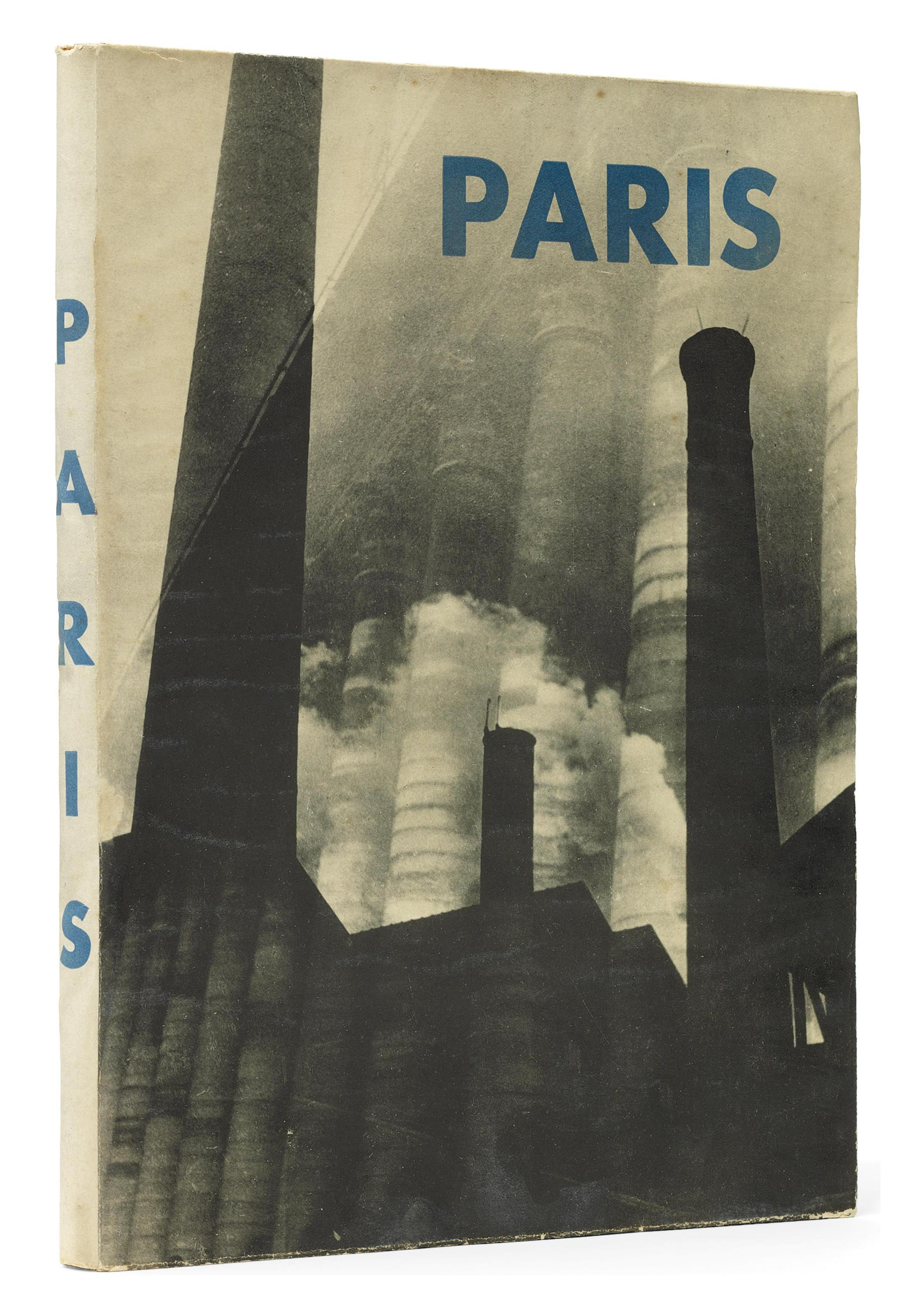 MOI VER. Paris. Introduction by Fernand Léger. Paris: Jeanne Walter, 1931. 4° (294 x 220 mm). 78 pages of black and white photomontages. Original photo-illustrated wrappers (extremities lightly rubbed, a few small spots). Provenance: Jeanne Walter (thence by descent; letter of provenance).