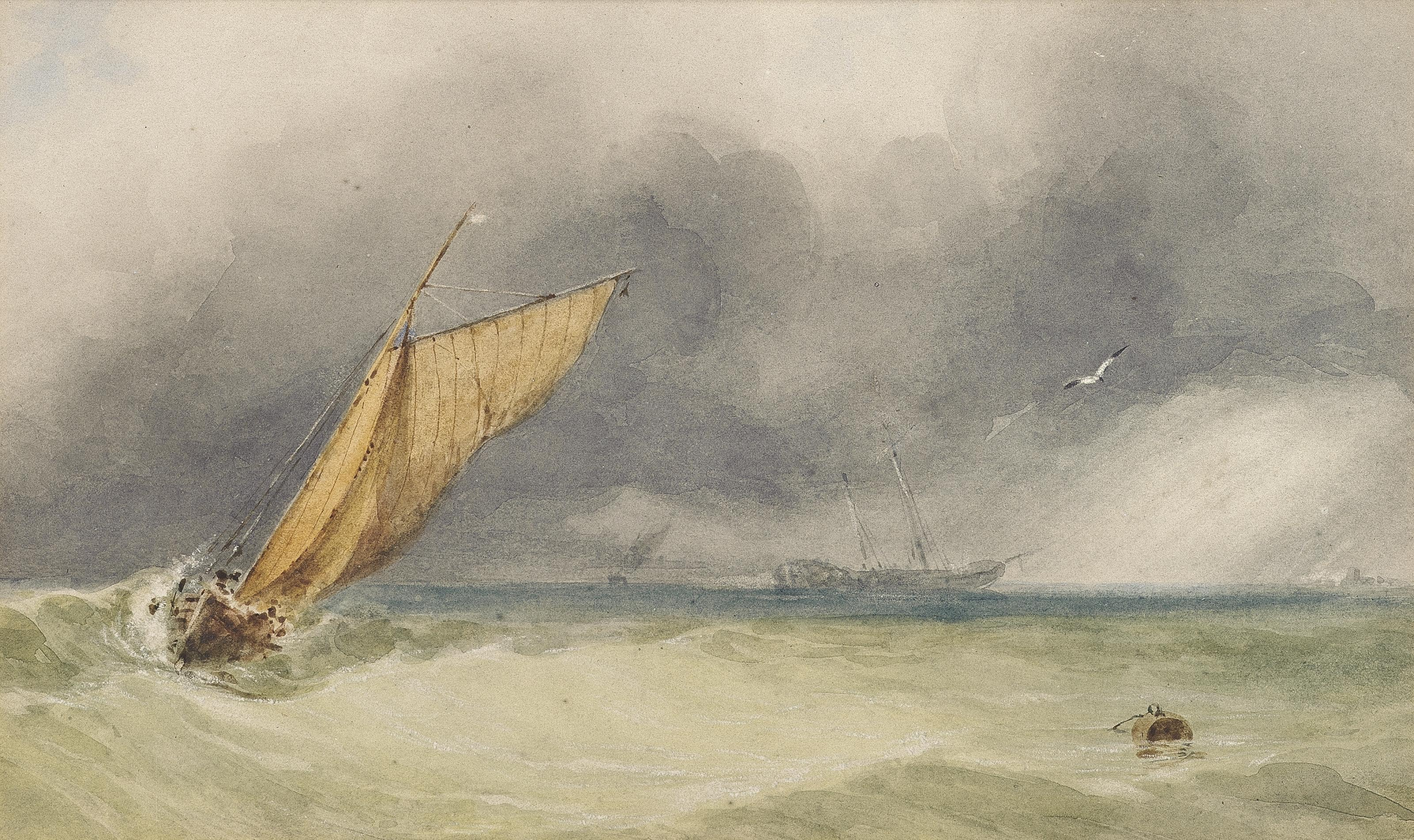 An approaching squall